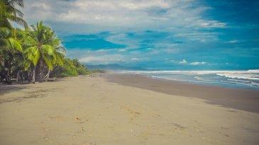 Playa Dominical autor: Jacek Brzezowski