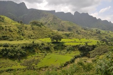 The Simien Mountains National Park