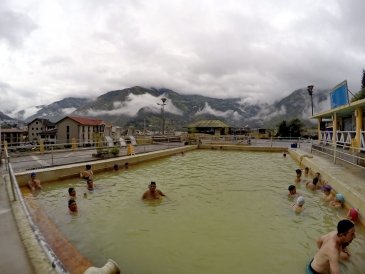 The Hot Springs of Banos