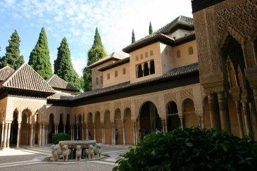 The Alhambra and Genaralife Gardens