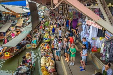 Bankok Floating Market