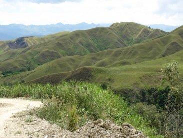Typowy krajobra Papuaski .JPG