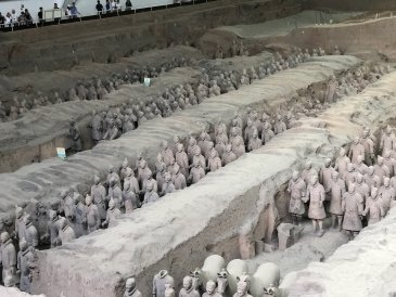 Armia Terakotowa - Chiny