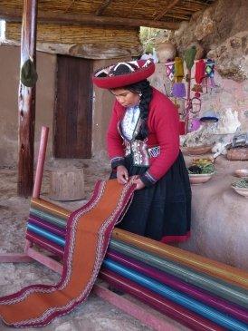 Kobieta z Chinchero