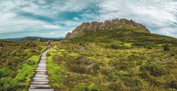 Twisted lakes Cradle Mountains NP