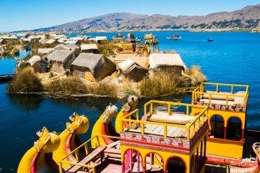 Titicaca jezioro Peru