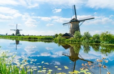 Kinderdijks Windmills