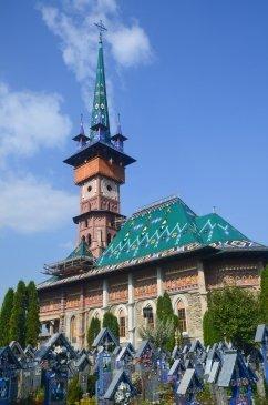 Wesoły Cmentarz Sapanta - Rumunia